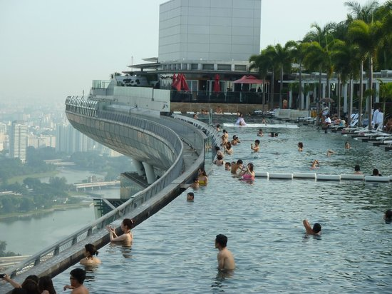 Piscine marina bay picture of marina bay sands - Marina bay sands piscina ...