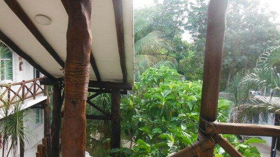 Apart Hotel Casaejido: Vista desde la ventana de la habotación.