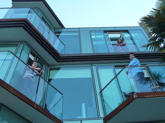 Hotel 17: Terrazas habitaciones
