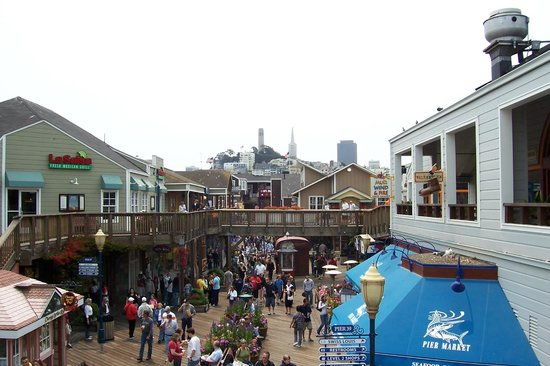 Fisherman's Wharf: Crowded and touristy, but still fun