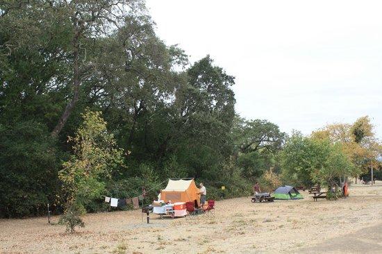Skyline Wilderness Park : Campsite