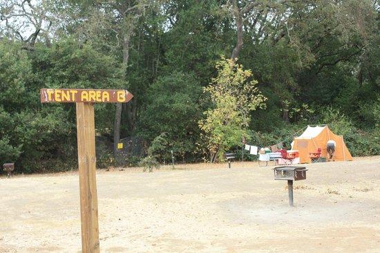 Skyline Wilderness Park : Tent Area B