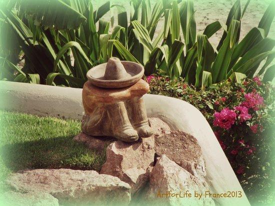 Villa Amor del Mar: In the garden.