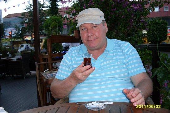 Villa Okan Restaurant: Вкусный турецкий чай