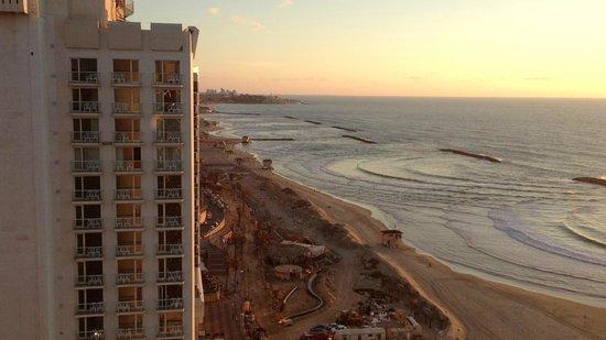 Herods Tel Aviv : view to south