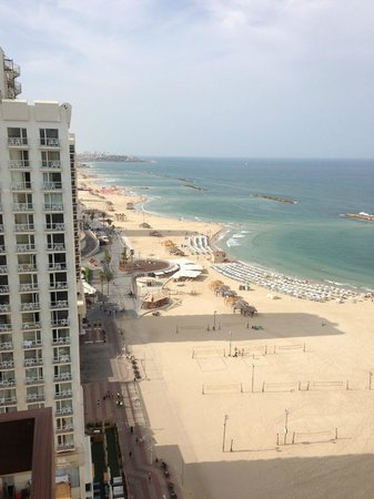 Herods Tel Aviv : view from south facing room