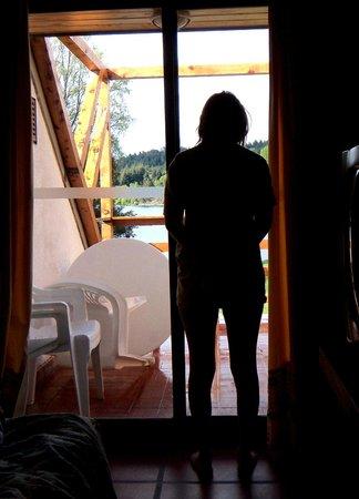 Club Hotel Dut Bariloche: Amanecer en la cabaña