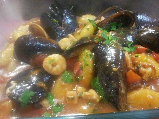 Trattoria Don Turiddu : gnocchi ai frutti di mare