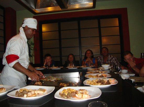 Grand Bahia Principe Bavaro : Японский ресторан