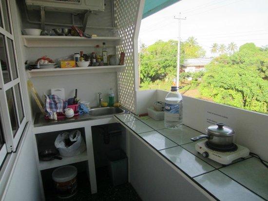 Cocrico Inn: kitchen
