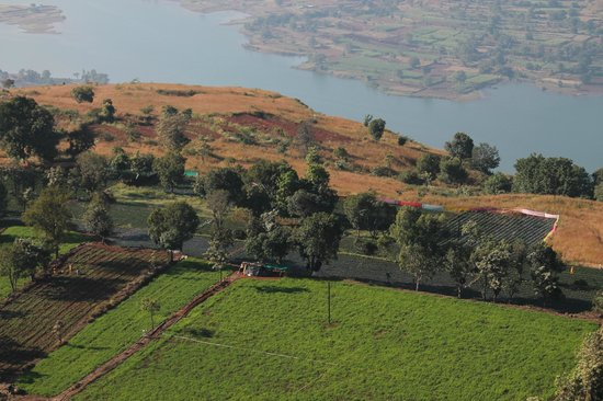 Exotic Home Stay - Panchgani: View from nearby