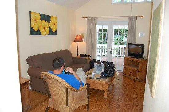 Douglas House: Sitting area