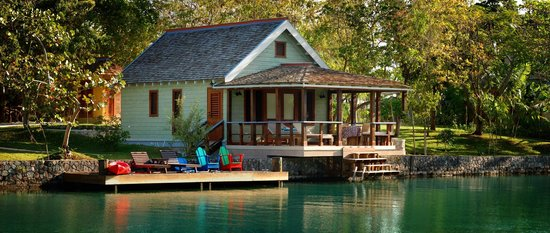 Oracabessa, Jamaica: Lagoon Cottage