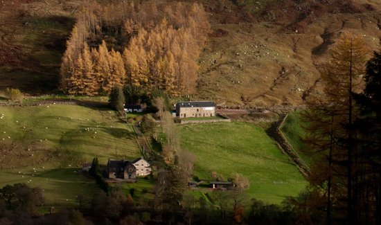 Achintee Farm: Achintee from Glen Nevis
