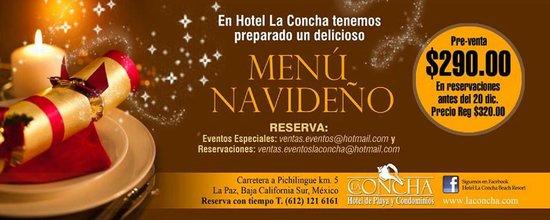 La Concha Beach Resort: Menus y paquetes especiales