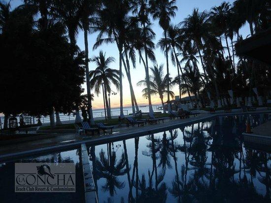 La Concha Beach Resort: Paisajes  impresionantes