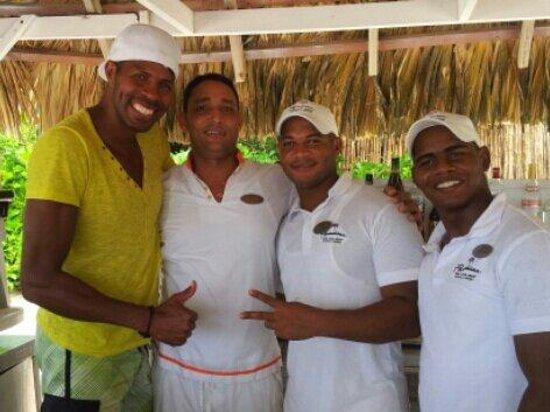 Paradisus Punta Cana: El grupo los fantástico, el que hable mal de estos muchacho no tiene ni idea lo maravilloso que