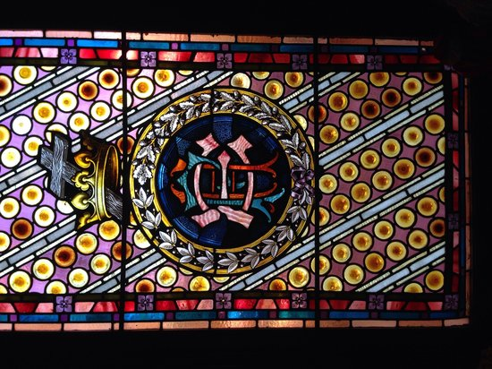 1884 Wildwood Bed and Breakfast Inn: Beautiful stained glass