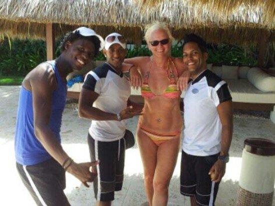 Paradisus Punta Cana: Gracias mi gente buena la pasamos RIIIIICOOO