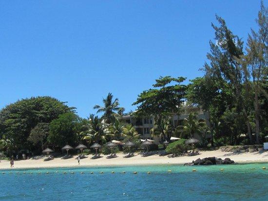 Le Cardinal Exclusive Resort: Sicht aufs Hotel