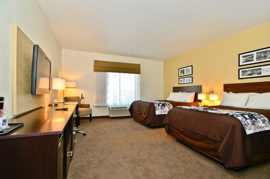 Sleep Inn & Suites : Double Queen Room