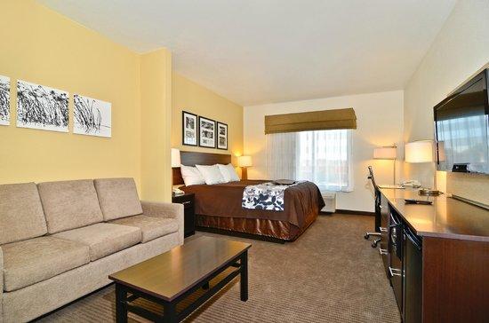 Sleep Inn & Suites : King Suite