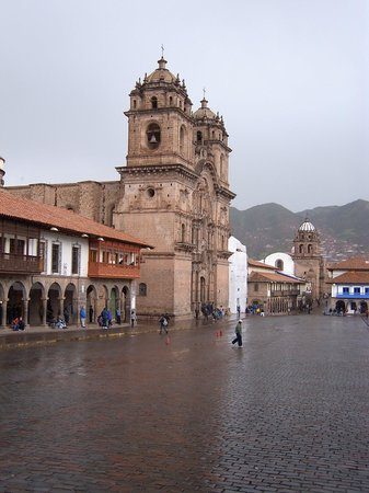 Orquidea Real Hostal: Plaza de Cusco.