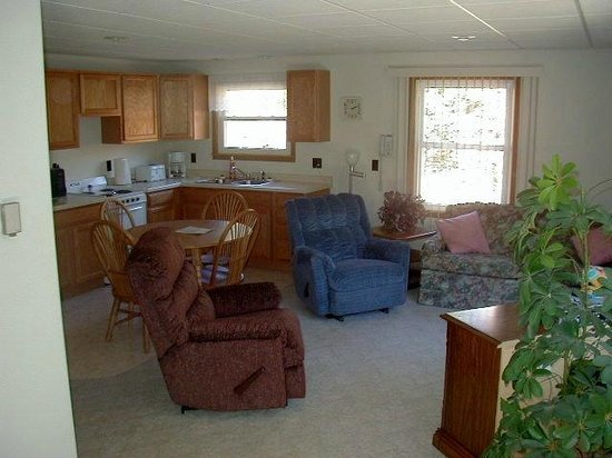 White Pine, MI: kitchen/Living room