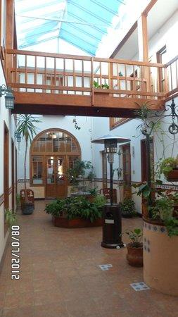 Hotel Italiano : Patio interno del hotel