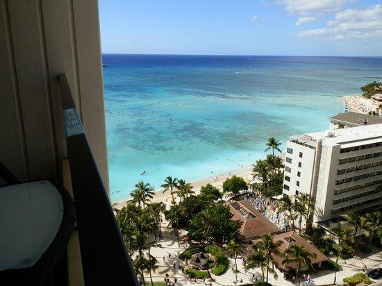 Hyatt Regency Waikiki Resort & Spa: view from room 2055