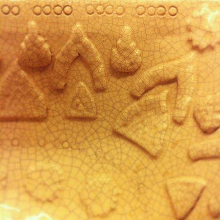 Chalelarn Hotel Hua Hin: Мотив на керамической раковине