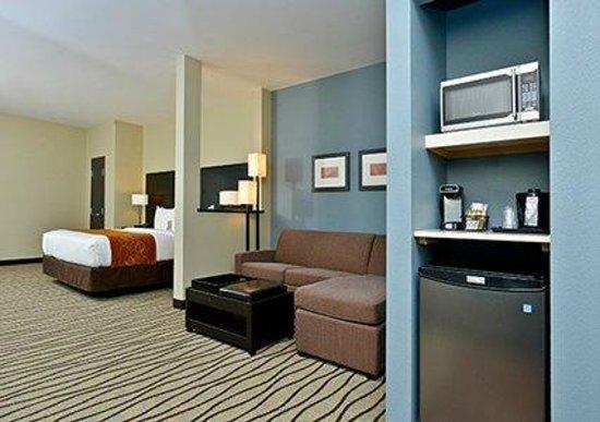 Comfort Suites Houston West Beltway 8: Spacious suite