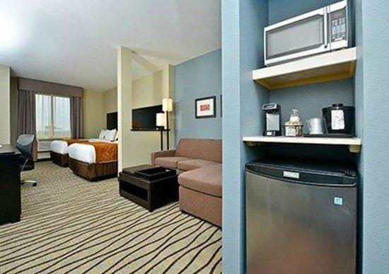 Comfort Suites Houston West Beltway 8 : Queen suite