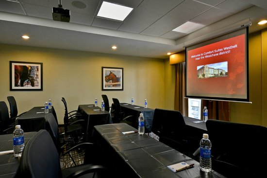 Comfort Suites near Westchase on Beltway 8: Meeting room with classroom-style setup