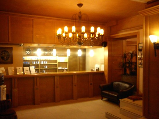 Balkan Orient Express Hotel: Shy receptionist