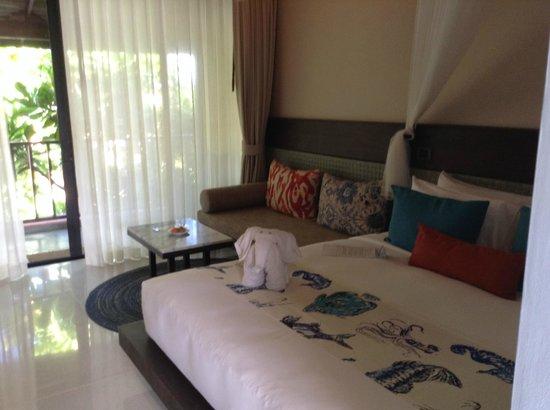 Buri Rasa Koh Phangan: Nett eingerichtetes Zimmer
