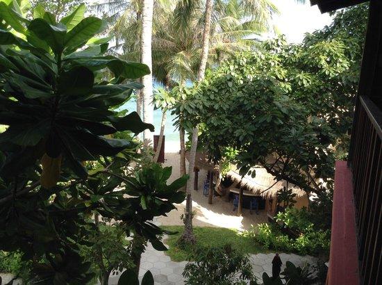 Buri Rasa Koh Phangan: Der Weg zum Strand