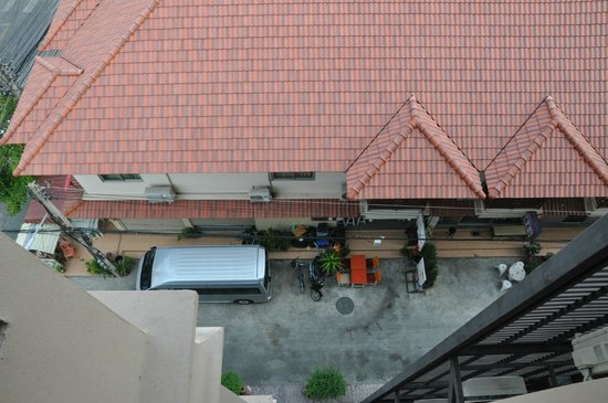 Chalelarn Hotel Hua Hin: с балкончика вниз из 503