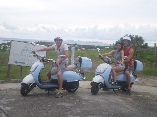 Johnny's Scooter and ATV Rental: Johnny's Scooters on St. Maarten