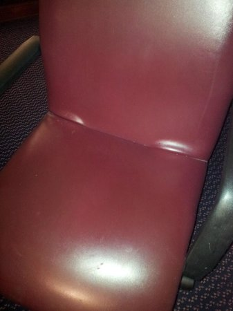 Driftwood Santa Clara: A stained leather chair?