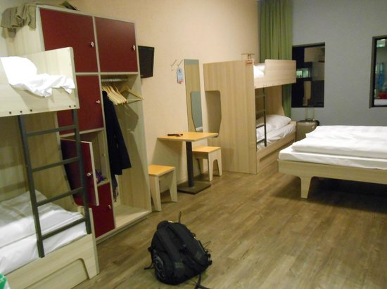 MEININGER Hotel Amsterdam City West: Dorm room.