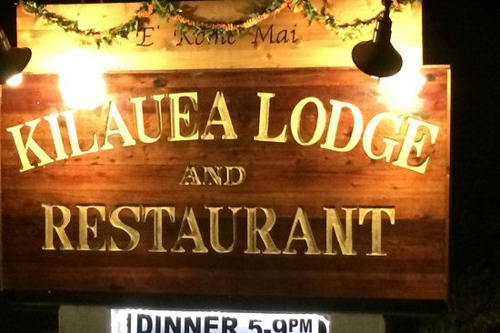 Kilauea Lodge & Restaurant: Don't miss this place