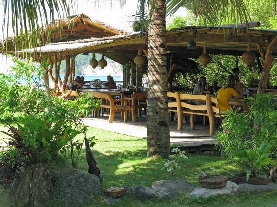 Fishermen's Cove : Si pranza qui, vicino al mare e alle mangrovie