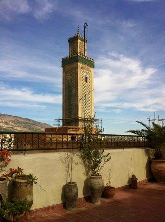 Dar Sienna: vista dal terrazzo