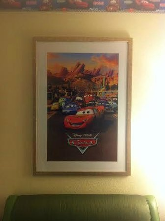 Fairfield Inn Anaheim Resort: Cars Artwork