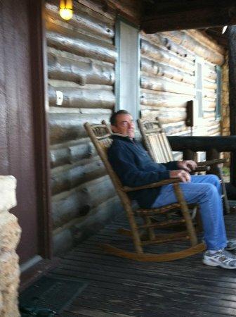 Grand Canyon Lodge - North Rim : Front Porch