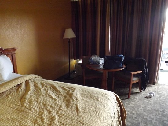 Quality Inn of Troy: Rooms were bigger than you would expect