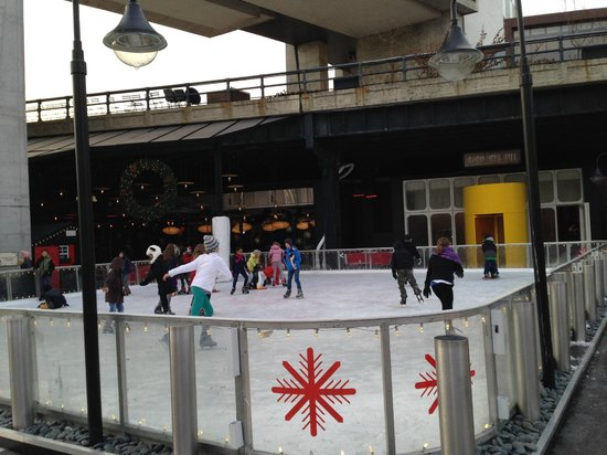 The Standard, High Line: Ice rink