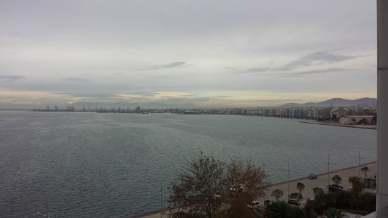 Makedonia Palace: View from the room