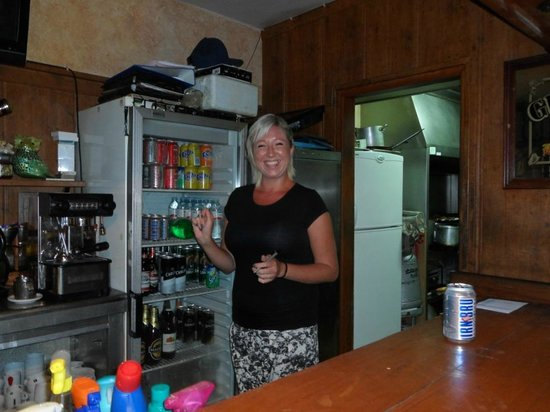 Christy's: Lorne who has a constant smile
